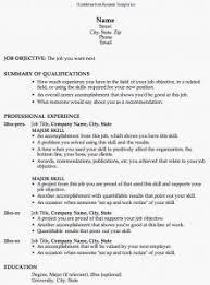 Hybrid Resume Format | Musiccityspiritsandcocktail.com