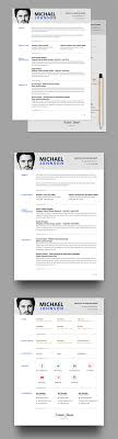 clean and structured resume psd template com resume cv template