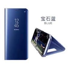 samsung note 8 case. for samsung galaxy note 8 case luxury flip stand mirror view sleep awake smart coque l