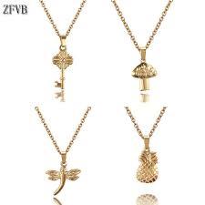 <b>ZFVB</b> New Fashion <b>Trendy Trendy</b> Jewelry Dragonfly Dolphin Key ...
