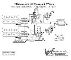 guitar wiring diagram humbuckers way lever switch volumes  guitar wiring diagram 2 humbuckers toggle switch two volumes and two tone controls gibson a push pull switch for single coil mode for each