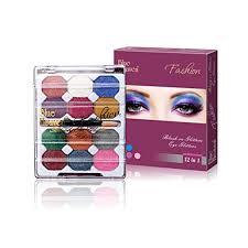 blue heaven 12x1 fashion eye shadow multicolor 10g