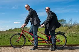 the world s largest blind tandem bike ride to be hosted by