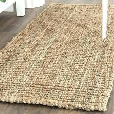 chunky jute rug natural fiber hand woven runner wool and mini pebble reviews hand knotted organic black natural wool jute rug