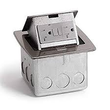 pop up receptacle. Simple Pop Lew Electric PUFPCTSS Countertop Box Pop Up W20A GFI Intended Receptacle U