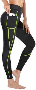 Rolewpy Women's <b>Neoprene</b> Sauna <b>Slimming Pants</b> Hot Thermo ...