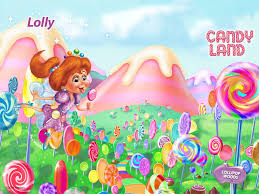 candyland board background. Interesting Board Candy Land Images Lolly HD Wallpaper And Background Photos Throughout Candyland Board Background