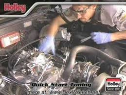 carburetor installation how to help video holley carb dvd