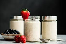 easy overnight oats with yogurt