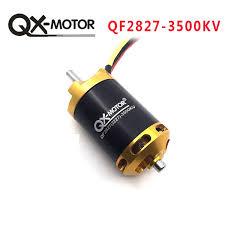 2019 <b>QX MOTOR</b> Brand New QF2827 3500KV Brushless Motor For ...
