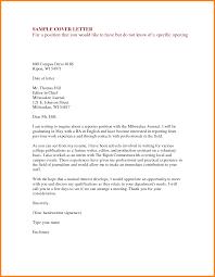 Resume Cover Letter Email Resume Cover Letter Job Inquiry Letter Email Job Inquiry 100 69