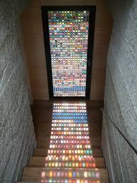 recycled glass window pantone or paint chip door