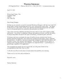 cover letter for engineering job cover letter for mechanical engineer strong interesting sample