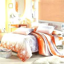 blue and orange bedding sets uk burnt baby awesome purple grey comforter set queen bedspread