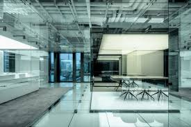 office interiors and design. gallery glass office soho china aim architecture 5 interiors and design