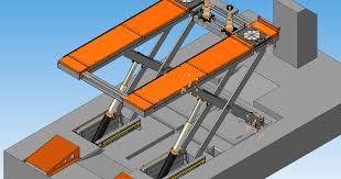 Библиотека конструкторов и студентов технических специальностей Подъёмник электрогидравлический для развал схождения