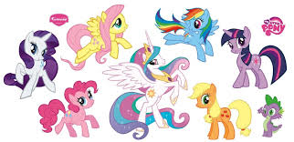 Small Picture Hasbro My Little Pony Collection Wall Decal fiuttrsny