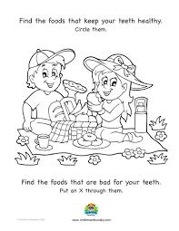 kids corner smile town childrens dentist burnaby food for healthy teeth