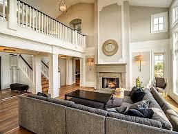 grey and beige classical interior design