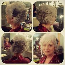 Short Grey Hair Style mob hair mother of the bride hair bob grey hair wedding party 6173 by wearticles.com
