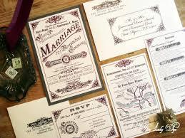 100 Vintage Wedding Invitations Steampunk Wedding