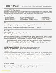 Software Engineer Resume Template Forolab4co
