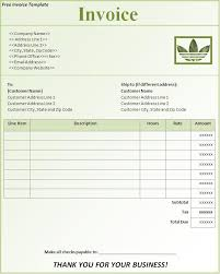 Sale Invoice Template Excel Download Free Download Free Invoice Template For Word Office Rental