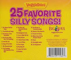 25 favorite silly songs veggietales