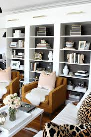 ikea billy lighting. illinois living room design kristin cadwallader leopard pillows blush black and white ikea billy lighting e