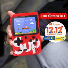 Máy chơi game box 500 in 1 bản plus cao cấp nhất ( có bản 1 người và 2  người chơi ) - Phụ kiện Gaming Nhãn hiệu No Brand