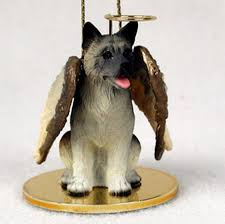 akita dog figurine angel statue ornament gray 180741554706 jpg