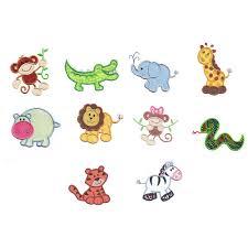 Animal Applique Designs Jungle Safari Animals Applique Animal Applique And