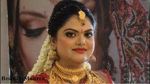 kerala hindu bridal makeup
