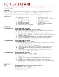 Human Resources Assistant Resume Examples Extraordinary Hr Sample Resume Human Resource Resume Examples Human Resource