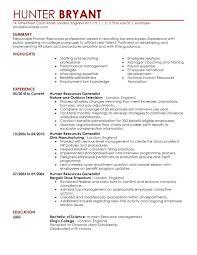 Sample Resume For Hr Assistant Best of Hr Sample Resume Human Resource Resume Examples Human Resource