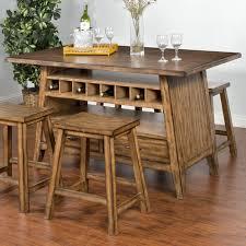 Sunny Designs Cornerstone 1398bm Table With Storage Basecenter