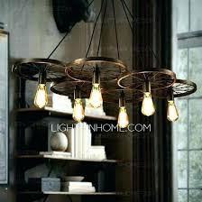 industrial bar lighting. Pendant Bar Lighting Industrial Astounding Retro 6 Light  Windmill Shaped Wrought Iron Lights . I