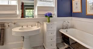 classy bathroom pedestal sinks designs