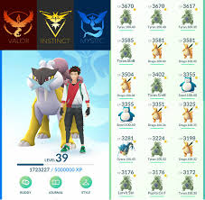 Selling] POKEMON GO ACCOUNT Level 37 38 39 LEGENDARY + Full 100% IV Gym  Attackers Pokemon
