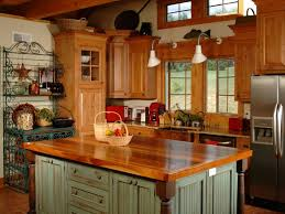 French Country Island Kitchen Country Kitchen Dhialma Custom Wood Range Hoods Add Warmth To
