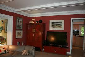 Red Paint Colors For Living Room Splendid Interior Design Ideas For Small Home With Cool White And