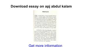 my role model apj abdul kalam essay in english vision   essay on apj abdul kalam google docs