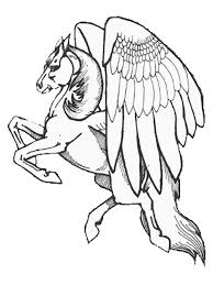 Small Picture Free Printable Pegasus Coloring Pages For Kids Coloring Home