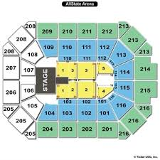 Allstate Arena Seating Chart Wwe 33 Unique Allstate Arena Chart
