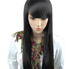 Hairstyles With Blunt Fringe Long Dark Brown Hair With Bangs 17 Best Ideas About Dark Hair