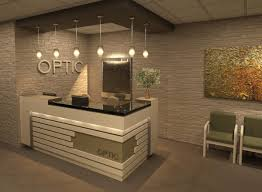 office reception counters. Dr-Cobean-Rajani-Optemetric-office Office Reception Counters