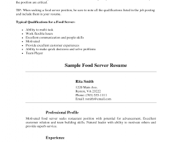 Good Server Resume Freelance Bookkeeper Sample Resume