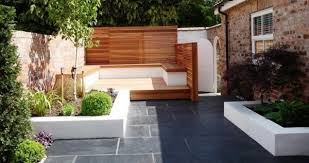 Small Picture modern garden design ideas pictures sitting area privacy fence