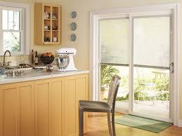 thermastar by pella sliding patio door traditional kitchen