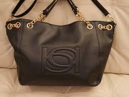 new wt black bebe leather purse lara per shoulder bag wbe05 260 large